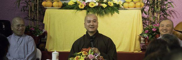 Thầy Pháp Hoà Giảng Pháp tại chùa Phước Hải , Charlotte, NC