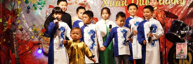 Video Clips Mừng Xuân của Lớp Việt Ngữ Chùa Quan Âm