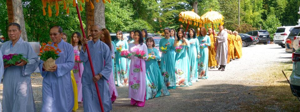 Hình  Ảnh Đại Lễ Phật Đản PL.  2565-2021